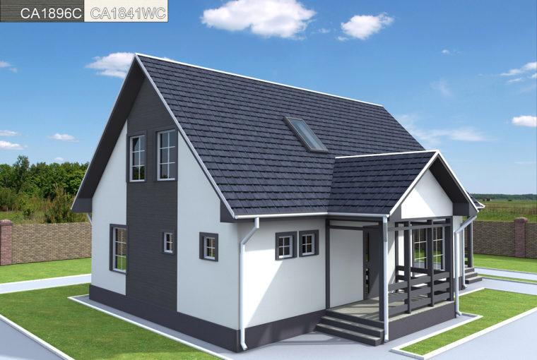 Проект каркасного дома LAGUNA
