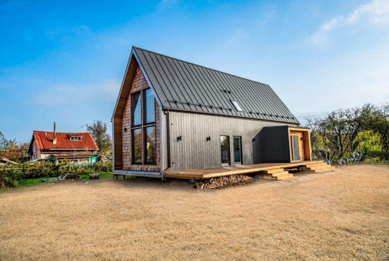 Стильный каркасный дом по доступной цене от MakHouse