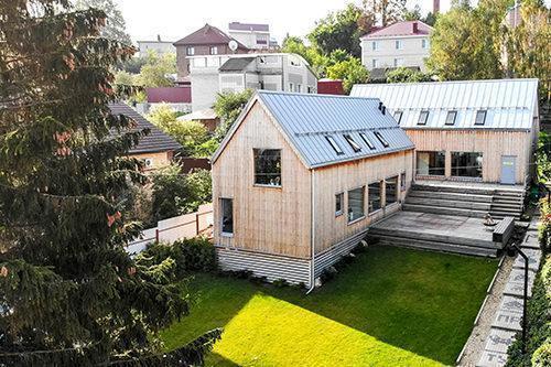 Каркасный дом-офис Простых Решений