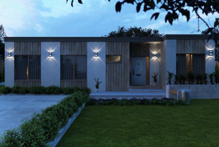 Проект каркасного дома LAURUS от компании MakHouse