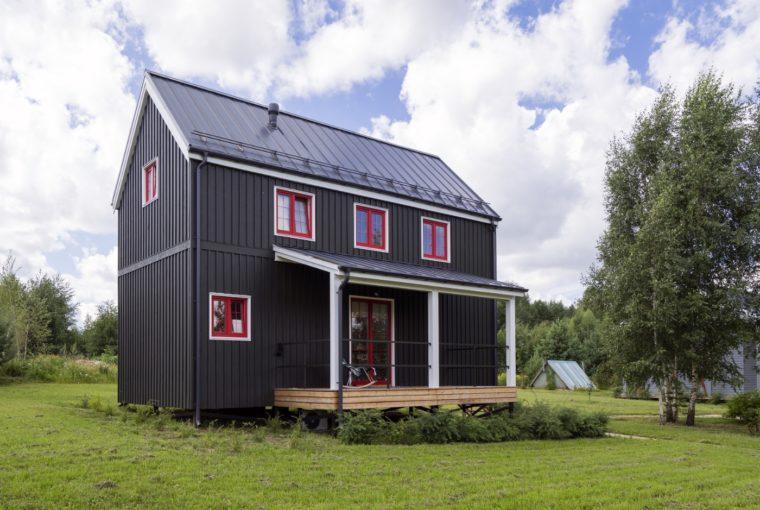 Каркасный загородный дом по доступной цене